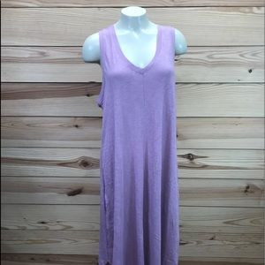 Z Supply Reverie Dress Large Mauve NWT Sleeveless